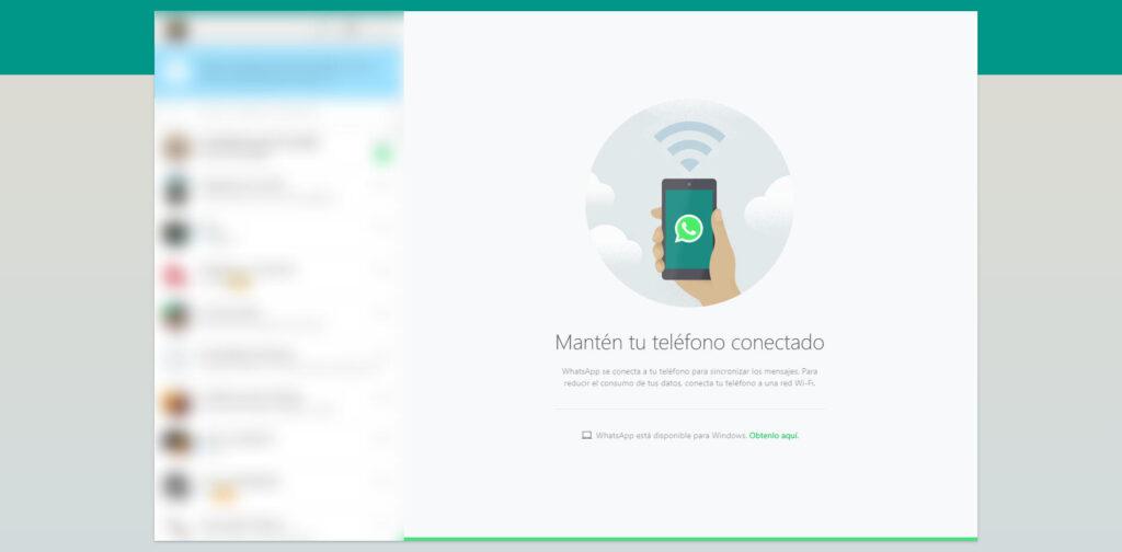 Whatsapp en tu navegador